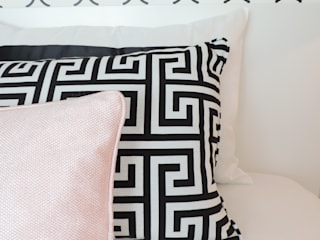 Black&White: Quartos  por Espaços Únicos - EU InteriorDecor,Moderno