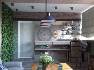 Лоджия Балкон и веранда в стиле лофт от DS Fresco Лофт
