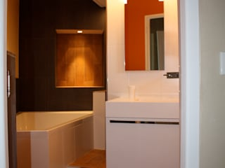 Maison tendance Jeux de Lumière Salle de bain moderne