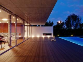 CASA TERRAVILLE III Varandas, alpendres e terraços modernos por OSPA Moderno