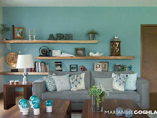 Living room by MARIANGEL COGHLAN