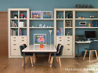 MARIANGEL COGHLAN Modern study/office