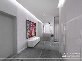 Modern Corridor, Hallway and Staircase by All Design- Aleksandra Lepka Modern