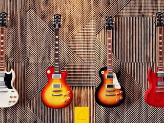 Penintdesign İç Mimarlık  – Gibson Guitarist Room / In Memory of Gary Moore:  tarz Çalışma Odası