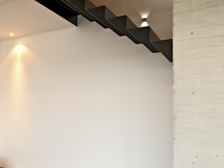 Casa X Agraz Arquitectos S.C. Pasillos, vestíbulos y escaleras modernos