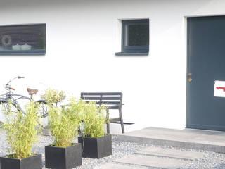 Eingang:  Häuser von Studio Meuleneers