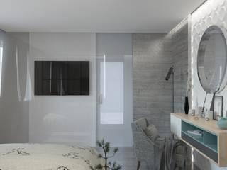 Спальня в стиле лофт Спальня в стиле лофт от DS Fresco Лофт