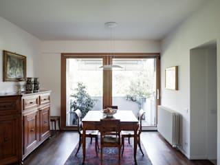 EXiT architetti associati Minimalist dining room