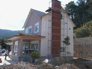 Case moderne di EGEUMUT ÇELİK YAPI Moderno