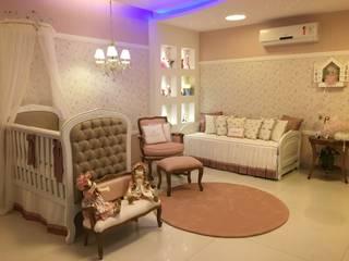 Projeto de Quarto de bebê por Heloisa Titan Arquitetura Clássico