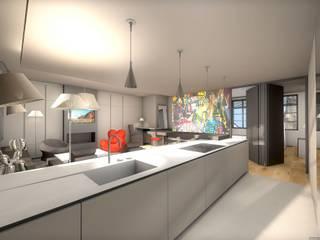 Appartement très design réHome Cuisine moderne