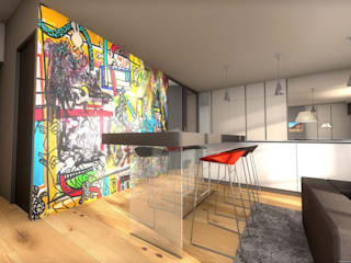 Appartement très design réHome Salon original