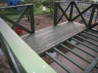 床板張り付け工事: 阿部建設が手掛けたです。