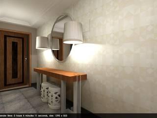 Corridor & hallway by Studio Bene Arquitetura,