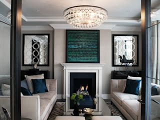 Chelsea Townhouse:  Living room by nu:builds