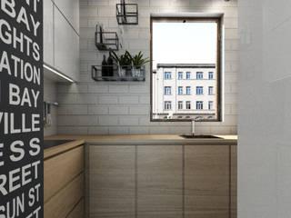 Kuchnia - Zielony Żoliborz: styl , w kategorii Kuchnia zaprojektowany przez InteriorConcierge