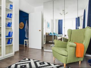 Гостиная:  в . Автор – L'Essenziale Home Designs