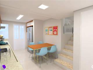 Cozinha Candy Colors Cozinhas modernas por CTRL | arquitetura e design Moderno