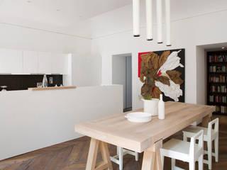 غرفة السفرة تنفيذ Studio Fabio Fantolino