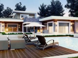 Modern style gardens by VERO CONCEPT MİMARLIK Modern