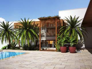 Lozí - Projeto e Obra Balcones y terrazas de estilo moderno