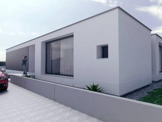 LOTEAMENTO ALTO DOS MOINHOS Casas modernas por Rúben Ferreira   Arquitecto Moderno