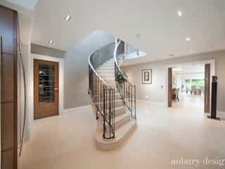 Contemporary Living:  Corridor & hallway by Aubury Design