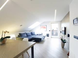 Salones de estilo moderno de arch lemayr thomas Moderno