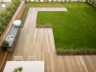 Minimalist style garden by Burnazzi Feltrin Architects Minimalist