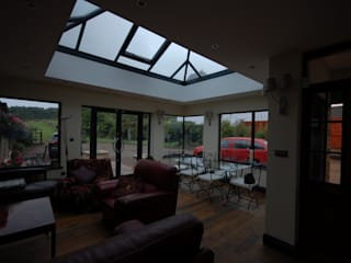 House extension in Houghton - Le - Spring DURHAM Modern conservatory by Persepolis Architecture Ltd Modern