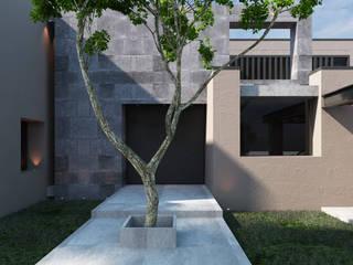 CASA CELAYA: Casas de estilo  por Tectónico,