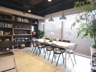 COOKING STUDIO '차롱' 스칸디나비아 다이닝 룸 by 디자인팩토리 북유럽