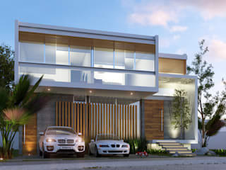 Casa Lince: Casas de estilo  por Entorno Arquitectura