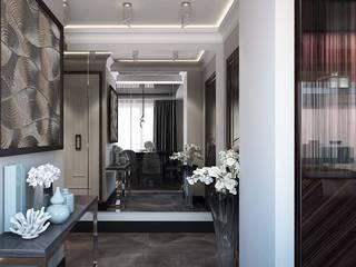 Дизайн-проект квартиры в ЖК Мегаполис-НН в стиле Арт Деко: Коридор и прихожая в . Автор – Дизайн студия ЭльДиз