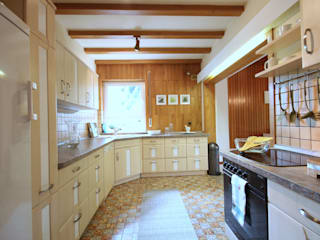 Birgit Hahn Home Staging Classic style kitchen Beige