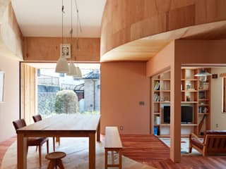 藤原・室 建築設計事務所 Scandinavian style dining room
