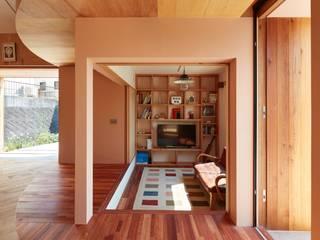 藤原・室 建築設計事務所 Scandinavian style living room
