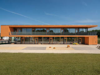 KITA Delitzsch Moderne Häuser von Rentzsch Architekten Modern