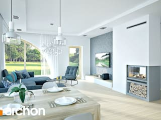 Modern living room by ArchonHome.pl Modern