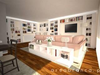 Wohnzimmer von Areabranca, Modern