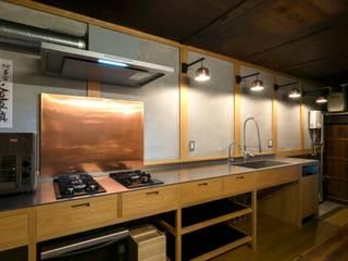 下京の町家 和風の キッチン の 花屋設計部 和風