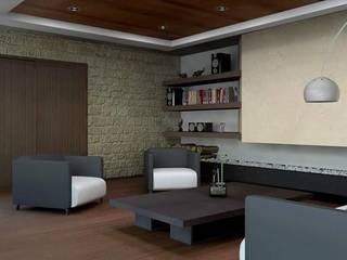 Phòng khách by Arq. Rodrigo Culebro Sánchez