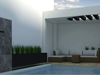 Portada: Casas de estilo moderno por Kaizen Construcción