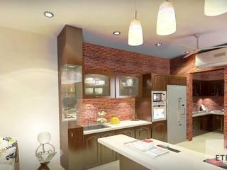 Interior design:  Kitchen by Eternity Designers