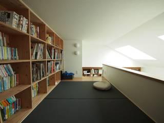 せいじの樹: SQOOL一級建築士事務所が手掛けた書斎です。,