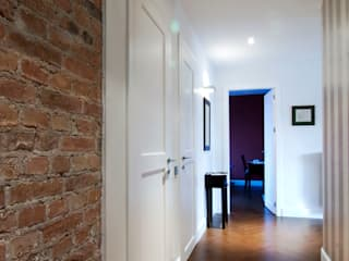 Mieszkanie Żoliborz: styl , w kategorii Korytarz, przedpokój zaprojektowany przez EYMONTT PRACOWNIA AUTORSKA