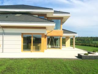 Dom z widokiem Maisons modernes par MG Projekt Projekty Domów Moderne