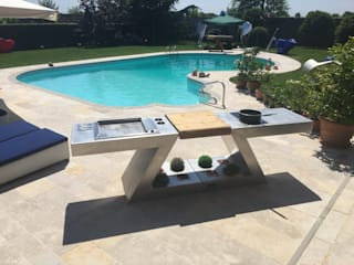 ZED EXPERIENCE relax in piscina: Giardino in stile  di ZED EXPERIENCE - indoor & outdoor kitchen