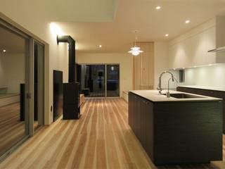 泉佐野の住宅: 北村大作建築設計事務所が手掛けたダイニングです。