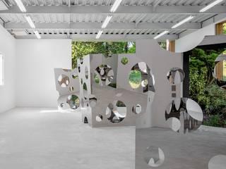 田中米吉彫刻美術館: 北村大作建築設計事務所が手掛けた和室です。